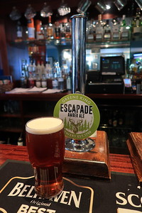 Greene King Escapade Amber Ale 4.0% at the Bridge Inn Ratho