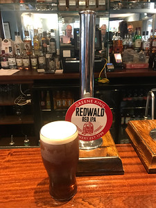 Greene King Redwald Red IPA 4.8% at The Bridge Inn, Ratho