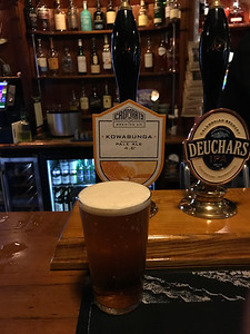 Cromarty Brewery Kowabunga Pale Ale 4.6% at The Cumberland Bar