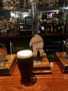 Arran Dark 4.3% at The Bridge Inn, Ratho