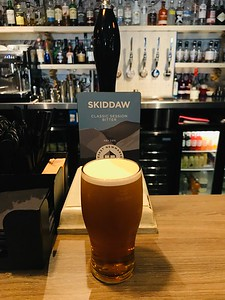 Skiddaw Bitter 3.6% Hesketh Newmarket Brewery at The Sally