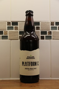 Fallen Brewing again - Platform C IPA at 6.3% sounds like a real winner.