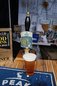 Peak Ales Chatsworth Gold 4.6% at RHS Chatsworth