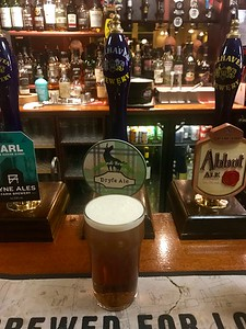 Lowland Brewing Lockerbie Dryfe Ale 4.4% at Cavens Arms Dumfries