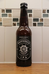 Eden Mill at St Andrews.  Shipwreck IPA comes in at a nice sensible 6.2%....