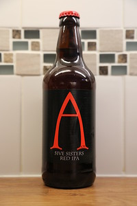 Alechemy 5ive Sisters Red Ale in the big bottle at 4.3% looks promising
