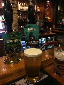 Fyne Ales Jarl 3.8% at the Cumberland Bar