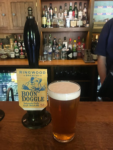 Ringwood Brewery Boon Doggle 4.2% at The Old Brewery Greenwich