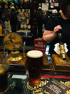 Hook Norton Old Hooky - round two at the Castle Tavern Inverness