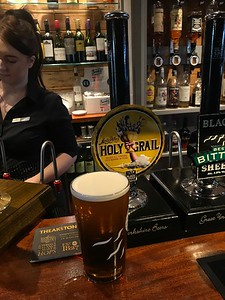 Kings Head Masham Black Sheep Brewery Holy Grail 4%