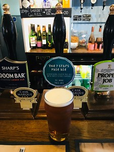 7 Stars Pale Ale 4.7% at The eponymous pub in Kingsbridge