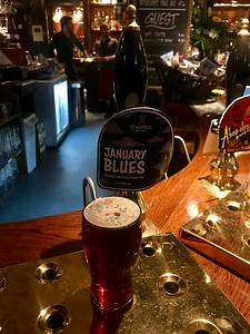 St Austell Brewery January Blues Ruby IPA 4.3% at Drum and Monkey