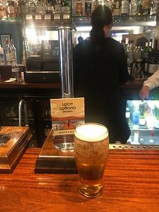 Loch Lomond Blonde and Bonnie 4% Pale Ale and a top pint at The Bridge Inn