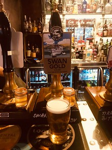 Bowness Bay Brewing Swan Gold 4.2% at The Flying Pig, Bowness