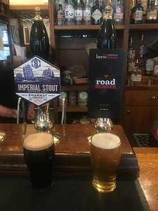 Swannay Imperial Stout 8% Mobberley Brew House Light Ale 3.8%