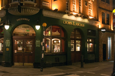 Crown and Anchor, Covent Garden