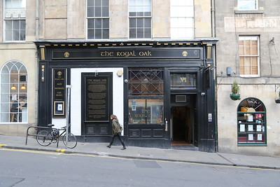 The Royal Oak, Infirmary Street, Edinburgh.  Still required - but it might only be for a (big chief) swifthalf...