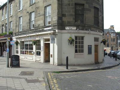 The Stockbridge Tap.  A fine establishment.