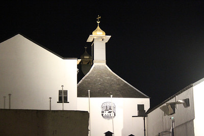 Bowmore at night