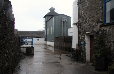 Kilchoman Distillery - sorry about the rain spots.