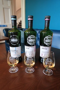 Miltonduff Experience Flight at the SMWS - 11, 8 and 9 year old lineup!