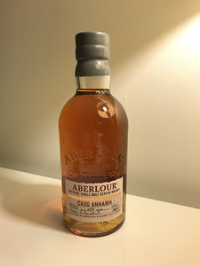 Aberlour Casg Annamh 48% Triple Cask Matured Non Chill Filtered. An utter beast of a Speyside!