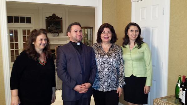 Armenian Language Seminar at St. Kevork Church, Huston, TX, March 14, 2015