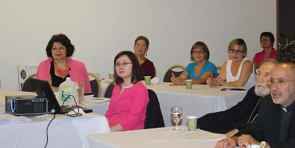 Armenian Teachers Symposium, St. Vartan Cathedral, New York City, September 6, 2014
