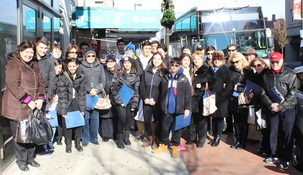 Khrimian Lyceum Connecticut Visit, November 22, 2014