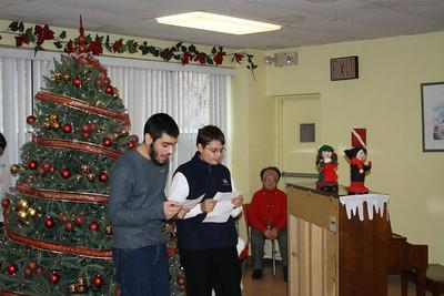Khrimian Lyceum visits New York Armenian Home, December 2011