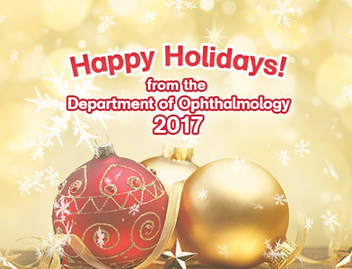 Department of Ophthalmology Holiday Party 2017