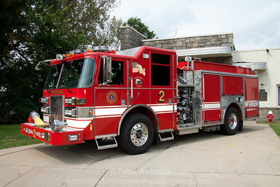 Hackensack NJ Engine Co.2, 2010 Pierce Contender 1500gpm/750gwt pumper.