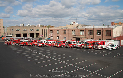 Hackensack NJ Fire Dept Apparatus (10-23-11)