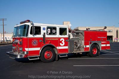 Hackensack NJ reserve Engine 3 (ex E-5) 1991 Seagrave 1500gpm/500gwt pumper.