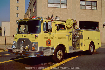 Hackensack NJ ex Engine 304 (E-4) 1985 Mack CF600/Ward 79 1000gpm 500gwt pumper