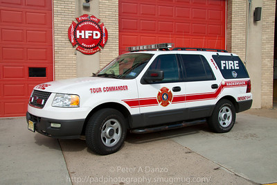 Hackensack NJ Fire Dept Reserve Tour Commanders (Deputy Chief's) vehicle, Ford Expedition
