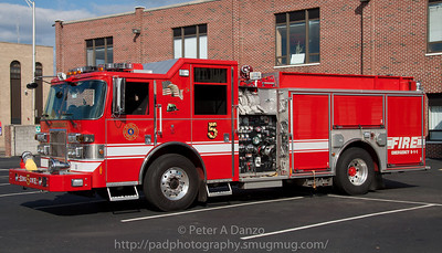 Hackensack NJ Engine Co.5, 2008 Pierce Contender 1500gpm/750gwt pumper (10-23-11)