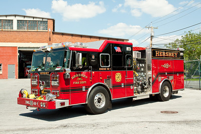 Hershey PA, Engine 48-1, 2006 Seagrave pumper, 2000gpm / 750gwt as well as both class A and class B foam.