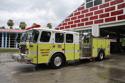 Reedy Creek Fire Rescue FL (Disney World) Engine 11, 1999 Emergency One 1750GPM/500 pumper