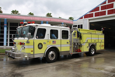 Reedy Creek Fire Rescue FL (Disney World) Ex-Engine 41, 1990 Emergency One 1750GPM/500 Hush pumper