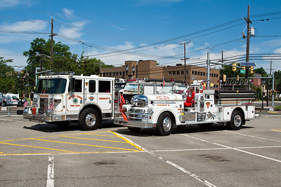 River Edge NJ Engine 2 and retired engine 2.