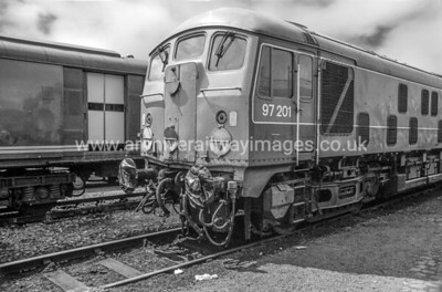 97201 (24061) Experiment 31/5/87 Coalville Depot Now Privately Owned/Preserved as at 18/3/17