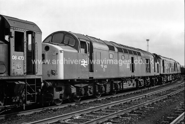 97405 28/3/87 Crewe Withdrawn 01/85 KD Cut-Up 03/88 Vic Berry's, Leicester