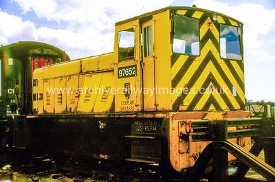 97652 (PWM652) 3/9/88 Laira Depot Withdrawn 18/6/87 Cut-Up 31/10/90 at Laira Depot