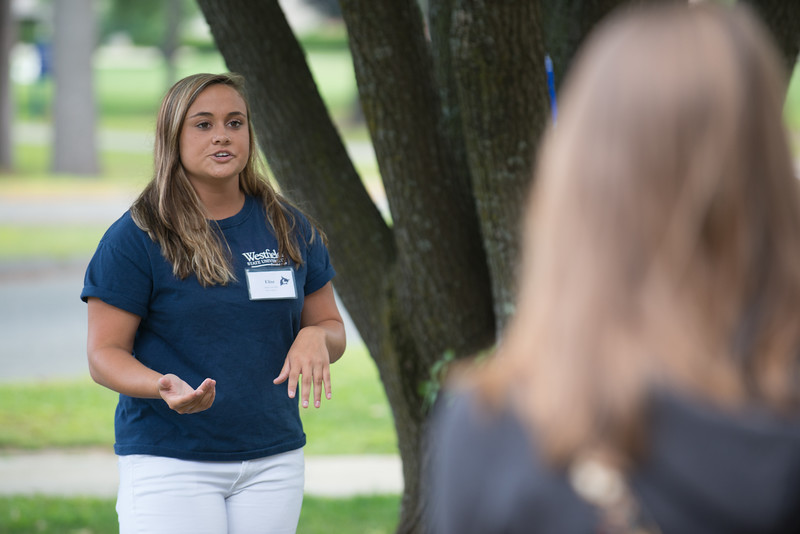 Campus tours at Westfield State University, Summer 2014
