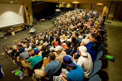 New Student Orientation at Westfield State University
