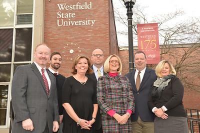 Westfield State University Office of Development staff photos, November, 2013
