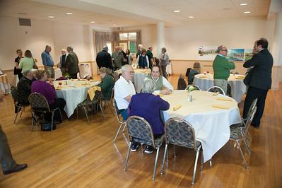 Professor Emeritus luncheon at Westfield State University, Spring 2015