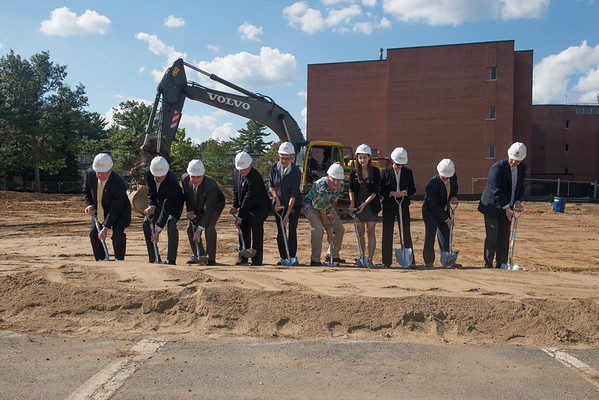 STEM Building Groundbreaking- Sept. 2014
