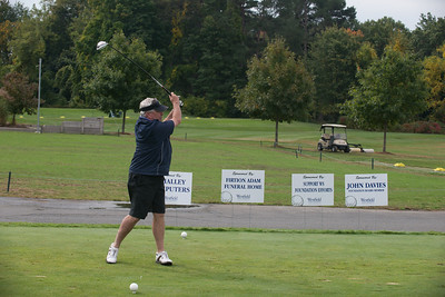 Westfield State University Scholarship Golf Tournament at the West Springfield Country Club, September 2014